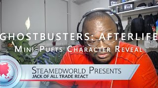 GHOSTBUSTERS: AFTERLIFE - Mini-Pufts Character Reveal Reaction!!!