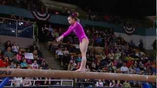 Katelyn Ohashi - Balance Beam - 2013 AT&T American Cup