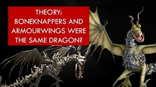 THEORY: Boneknappers and Armourwings were the SAME dragon?