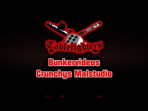 Bunkervideos - Crunchys Pinselschmiede - weiß malen