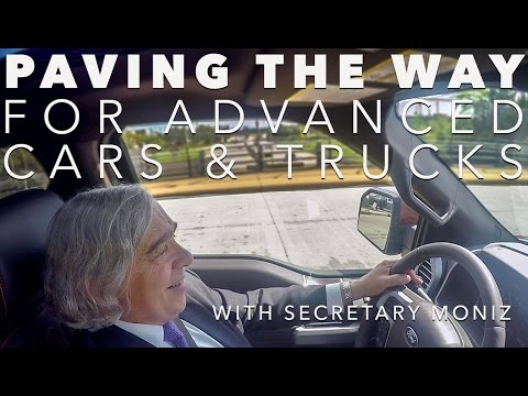 Energy Secretary Moniz on the Road: Paving the Way for Advanced Vehicles w/ Ford, Tesla, Nissan