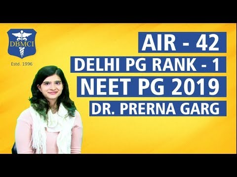 NEET PG Important topics learn with Dr Prerna Garg and NEET PG Topper