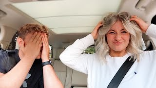 NEW HAIR REACTION + DAY VLOG | James and Carys