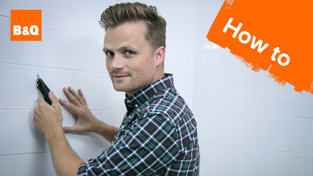 How To Re Grout Tiles Youtube