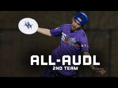 2016 All-AUDL Second Team Highlights