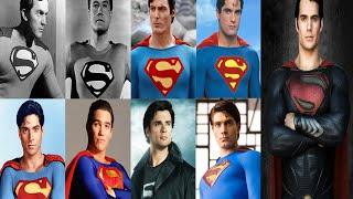 Superman Actors: 1948, 1951, 1978, 1988, 1989, 1993, 2001, 2006, 2013