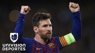 Le bastaron 90 minutos: la magia de Lionel Messi para eliminar al Lyon