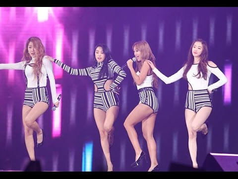 [HD 4K] SISTAR - Touch My Body + AOA - Like a Cat + GIRL'S DAY - Something - MAMA Live Show 2160P