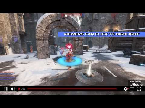 Game developers using the Genvid SDK can make any live game stream interactive over YouTube or any streaming platform. With Genvid's technology, developers can easily realize and monetize truly premium broadcast experiences for their audiences. Viewers can learn more about their favorite players, cheer for them, switch between different cameras, and even affect the game itself.