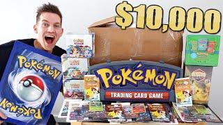 Opening a $10,000 Pokémon Mystery Box (*NOT CLICKBAIT*)