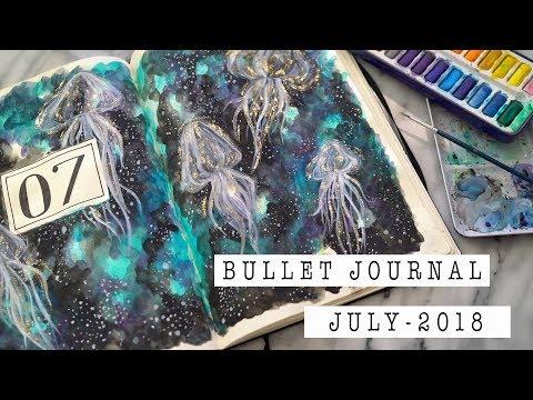 Creative Journaling | Bullet Journal Set-Up | JULY 2018 | ANN LE