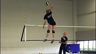 MONSTER Volleyball 3-rd Meter Spikes (HD)