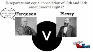Plessy v. Ferguson SCW
