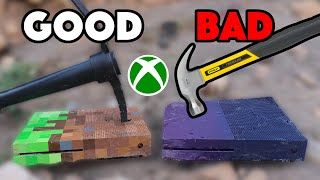 Bored Smashing - MINECRAFT AND FORTNITE XBOX ONE S