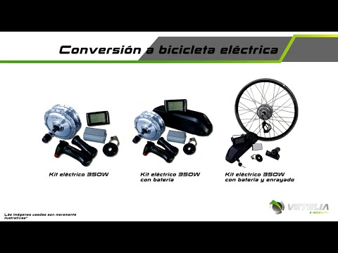 Kit bici eléctrica, convierte tu bicicleta en bicicleta eléctrica con Vetelia.