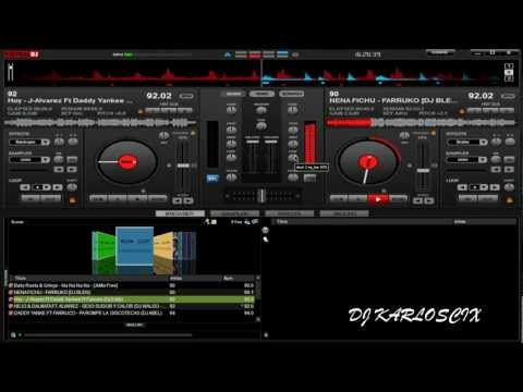 super mezcla reggaeton 2012 en virtual dj by DJINCIO
