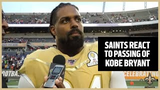 Saints Players React to Loss of Kobe Bryant | New Orleans Saints