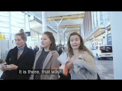 Tjenestetest på nye Oslo lufthavn