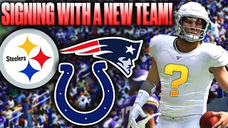 SIGNING W/ A NEW TEAM! WE PULL AN ANTONIO BROWN! Madden 20 Face Of the Franchise!