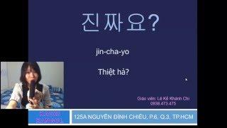 [KACHI HANGUL] Những câu tiếng Hàn thường dùng trong giao tiếp
