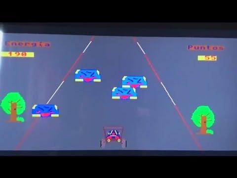 VIDEOJUEGO RALLY Y EFECTO ZOOM COMMODORE AMIGA 1200