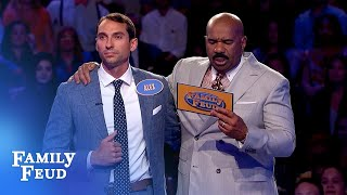 BOOM! Eric and Alex ACE Fast Money!   Family Feud
