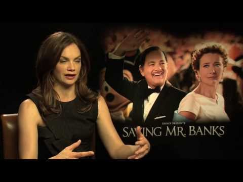 Ruth Wilson Interview -- Saving Mr. Banks - YouTube
