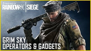 Rainbow Six Siege - Grim Sky Operators Gameplay