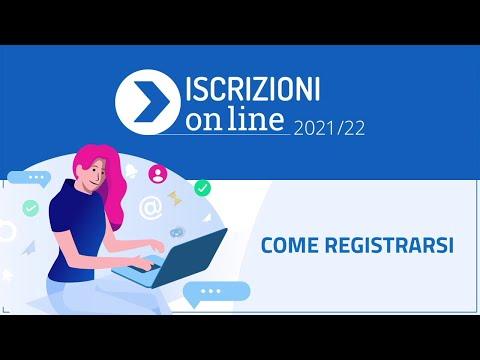 Come registrarsi – Video Tutorial - Iscrizioni on line 2021/22
