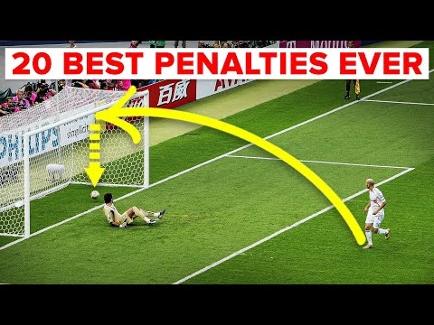 20 best penalties ever taken (and the 5 worst)