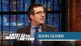 John Oliver Accidentally Saw the Entire Liverpool Football Club Naked - Late Night with Seth Meyers