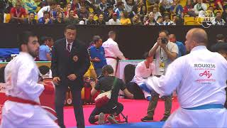 Demonstration of first-class Karate at Karate 1-Premier League Dubai