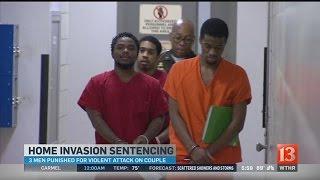 Home invasion sentence