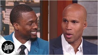Harrison Barnes gets free agency advice from Richard Jefferson: 'Take that $25 million!' | The Jump