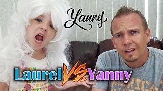 YANNY vs LAUREL: What do you Hear? (Kids React)