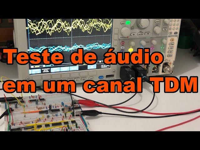 TESTE COMPLETO DE ÁUDIO PELO SISTEMA TDM | Conheça Eletrônica! #189