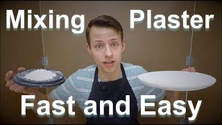 Ceramics - How To Mix Plaster For Making Molds and Bats