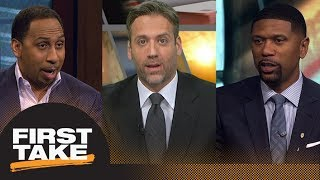 Jalen Rose says Cavaliers quit on LeBron James: Do Stephen A. and Max agree? | First Take | ESPN