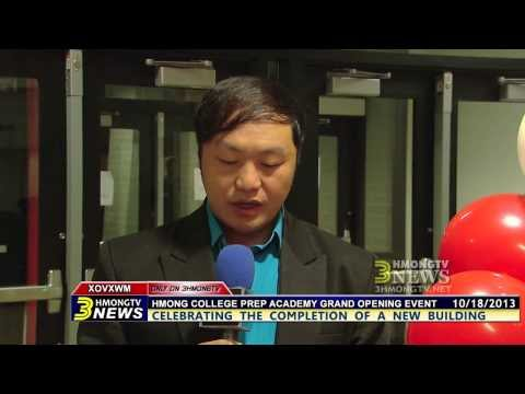 Kabyeej Vaj reports on Hmong College Prep Academy Grand Opening Event.