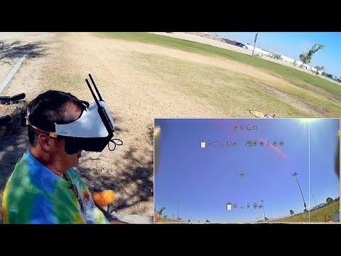 FXT Viper Periscopic FPV Goggles Flight Test Review