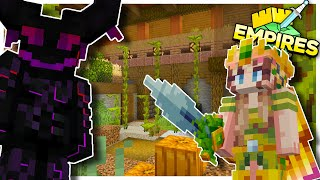Empires SMP: 1 V 1 Ultimate Face-off, Puzzles and Dragon Chaos! | Episode 7