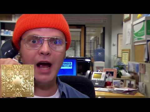 Kanye West albums described by The Office
