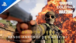 Call of duty: black ops cold war & warzone saison 2 :  bande-annonce