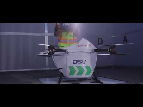 The Dawn of Next Level Logistics – DSV Canada Launches Cargo Drones