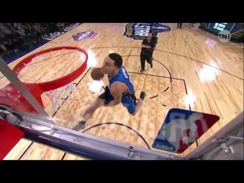 NBA Slam Dunk Contest Highlights Orlando Magic forward Aaron Gordon