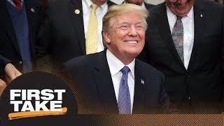 President Trump named 'Most Influential Person in Sports in 2017'   First Take   ESPN