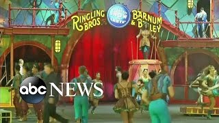 Ringling Brothers Circus Announces It Is Closing Down