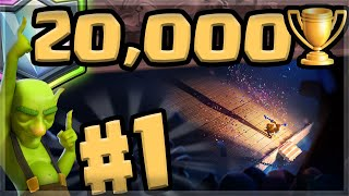 #1 Player with World Record 🏆  20199 TROPHIES 🏆 (Clash Royale)