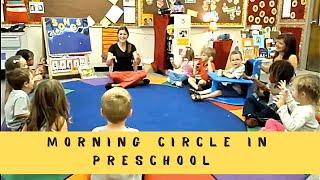 Morning Circle at Preschool - YouTube