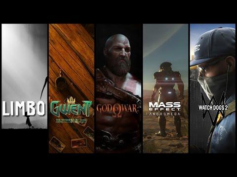 Новинки игр Watch Dogs 2, Mass Effect: Andromeda, Limbo, Gwent, God of War 4
